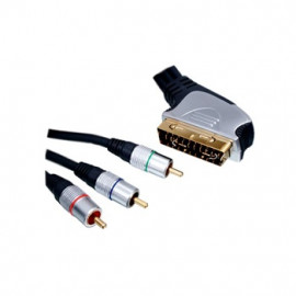 SCART to Component Cable