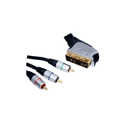 SCART til Komponent Kabel