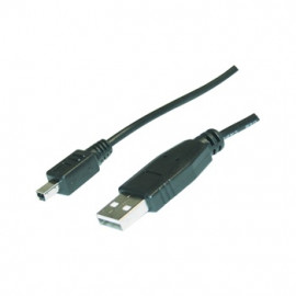 USB A - 4p mini USB B Cable