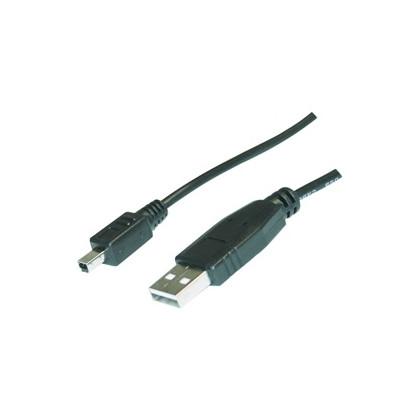 USB A - 4p mini USB B Kabel