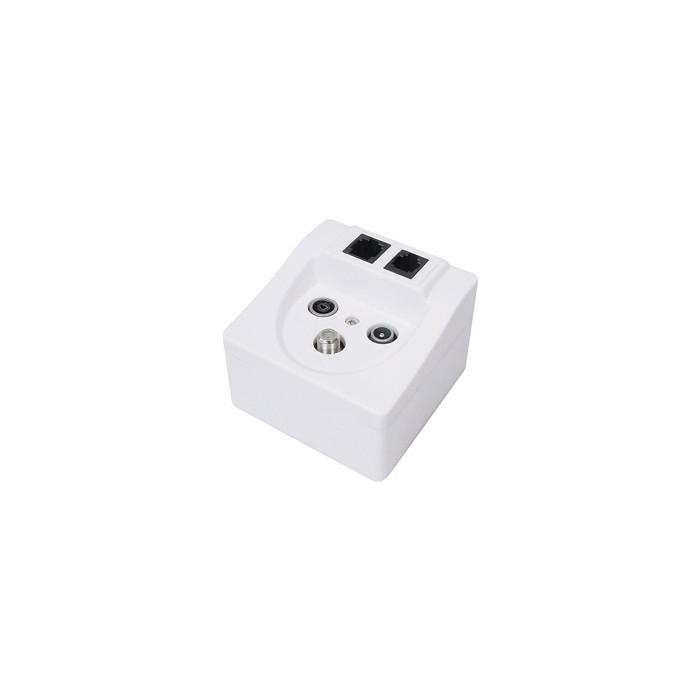 Wallbox - TV/FM/SAT/RJ45/RJ11