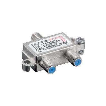 SAT/UHF/VHF Combiner