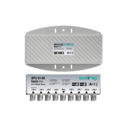 DiSEqC Switch - 8x1 (x2) Hi-Iso