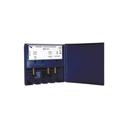 VHF+UHF/SAT Combiner
