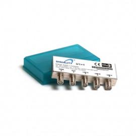 DiSEqC Switch - 3x1 (+1) Hi-Iso