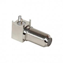 F-female PCB Socket 90°