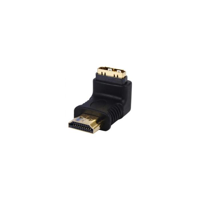 HDMI-male 90° to HDMI-female