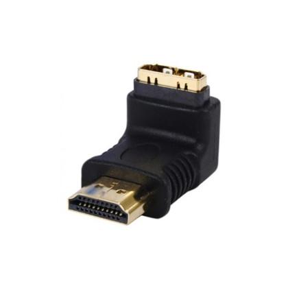 HDMI-han 90° til HDMI-hun