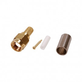 SMA-male Crimp Plug