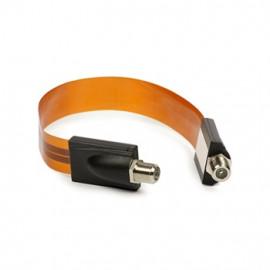 Coax Ultra Flat Cable - 30 cm
