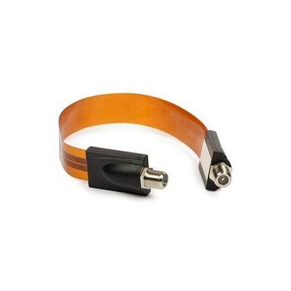 Koaxial Ultra Flat Kabel - 30 cm