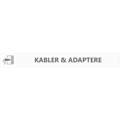 Kabler & Adaptere
